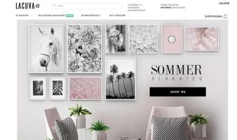 eCommerce website: LACUVA