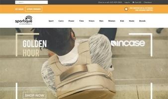 eCommerce website: Sportique