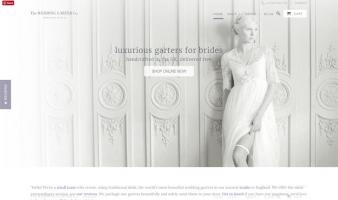 eCommerce website: Wedding Garter Co