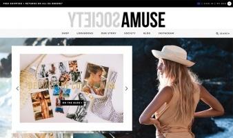 eCommerce website: Amuse Society