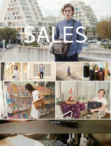 eCommerce website: Blue de Chauffe