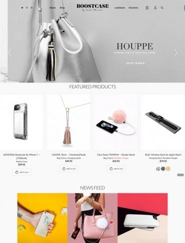 eCommerce website: Boostcase