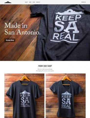 eCommerce website: Keep SA Real