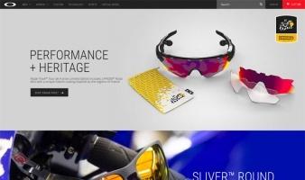 eCommerce website: Oakley