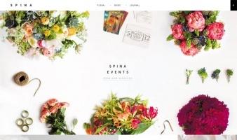 eCommerce website: Spina