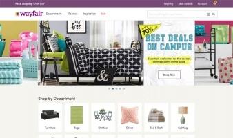eCommerce website: Wayfair