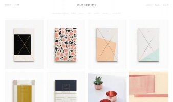 eCommerce website: Julia Kostreva