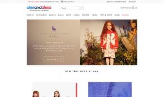 eCommerce website: Alexandalexa