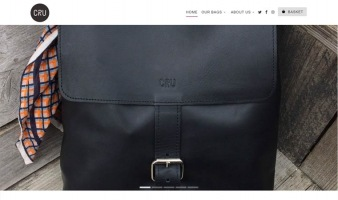 eCommerce website: CRU London