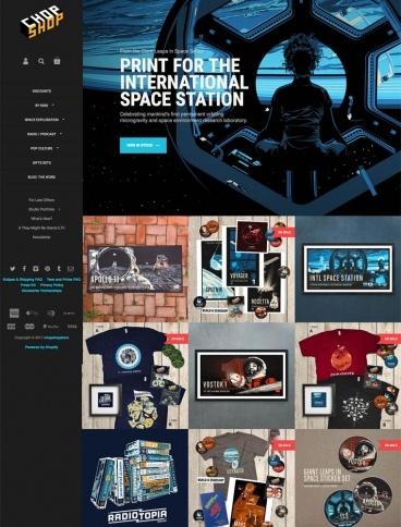 eCommerce website: Chop Shop
