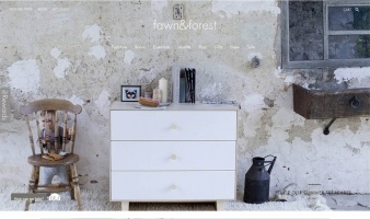 eCommerce website: Fawn & Forest