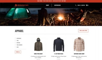 eCommerce website: Redington