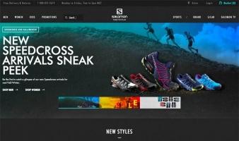 eCommerce website: Salomon