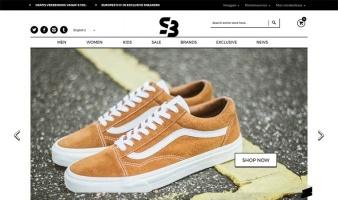 eCommerce website: Sneakerbaas