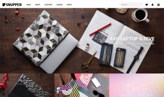eCommerce website: Snupped
