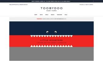 eCommerce website: ToobyDoo