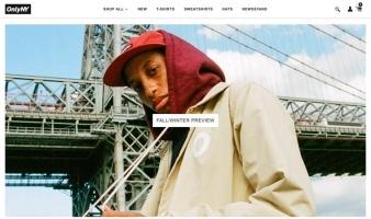 eCommerce website: Only NY