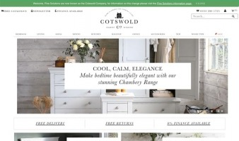 eCommerce website: The Cotswold Company