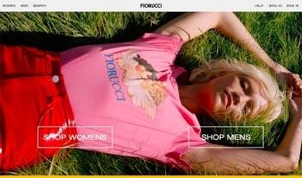 eCommerce website: Fiorucci