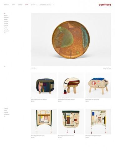 eCommerce website: Commune