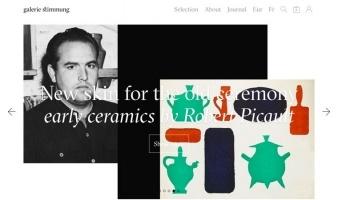 eCommerce website: Galerie Stimmung