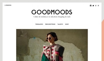 eCommerce website: Goodmoods