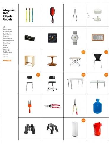 eCommerce website: Magasin Des Objets Usuels