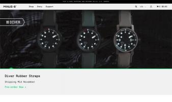 eCommerce website: Minus-8