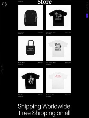 eCommerce website: Neue Goods