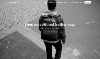 eCommerce website: Nordweg