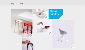 eCommerce website: Retail Facility