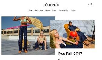 eCommerce website: ohlin-d