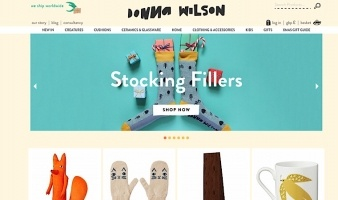 eCommerce website: Donna Wilson