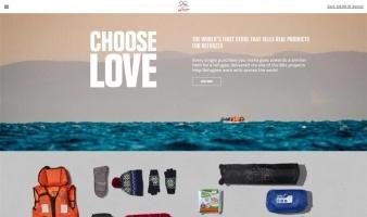 eCommerce website: Choose Love