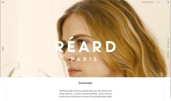 eCommerce website: Réard Paris