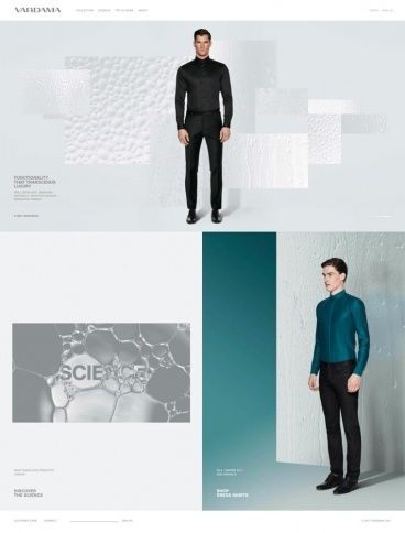 eCommerce website: Vardama