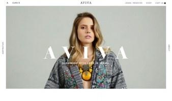 eCommerce website: AVIVA
