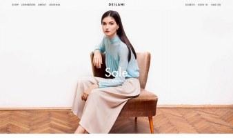 eCommerce website: DEILANI