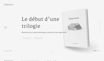 eCommerce website: Michael Petrov – Émersion