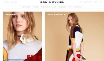 eCommerce website: Sonia Rykiel