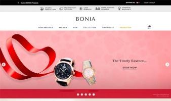 eCommerce website: BONIA