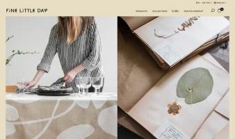 eCommerce website: Fine Little Day