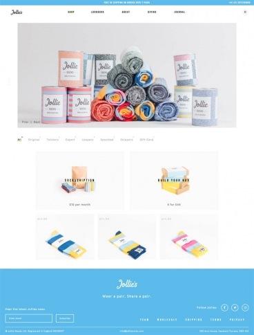 eCommerce website: Jollie's