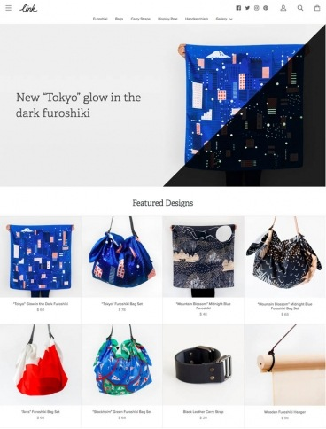 eCommerce website: LINK