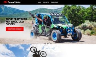 eCommerce website: Lizard Skins Cycling