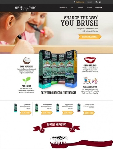 eCommerce website: My Magic Mud