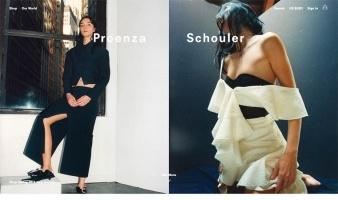 eCommerce website: Proenza Schouler