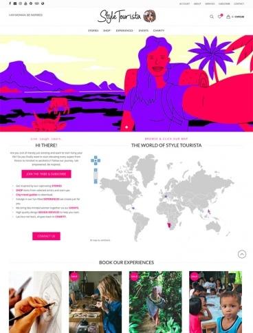 eCommerce website: Style Tourista