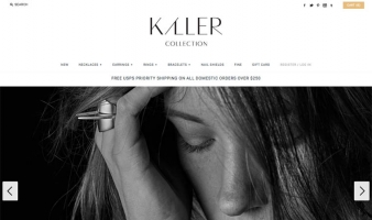eCommerce website: K/LLERCOLLECTION