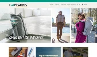eCommerce website: LOOPTWORKS